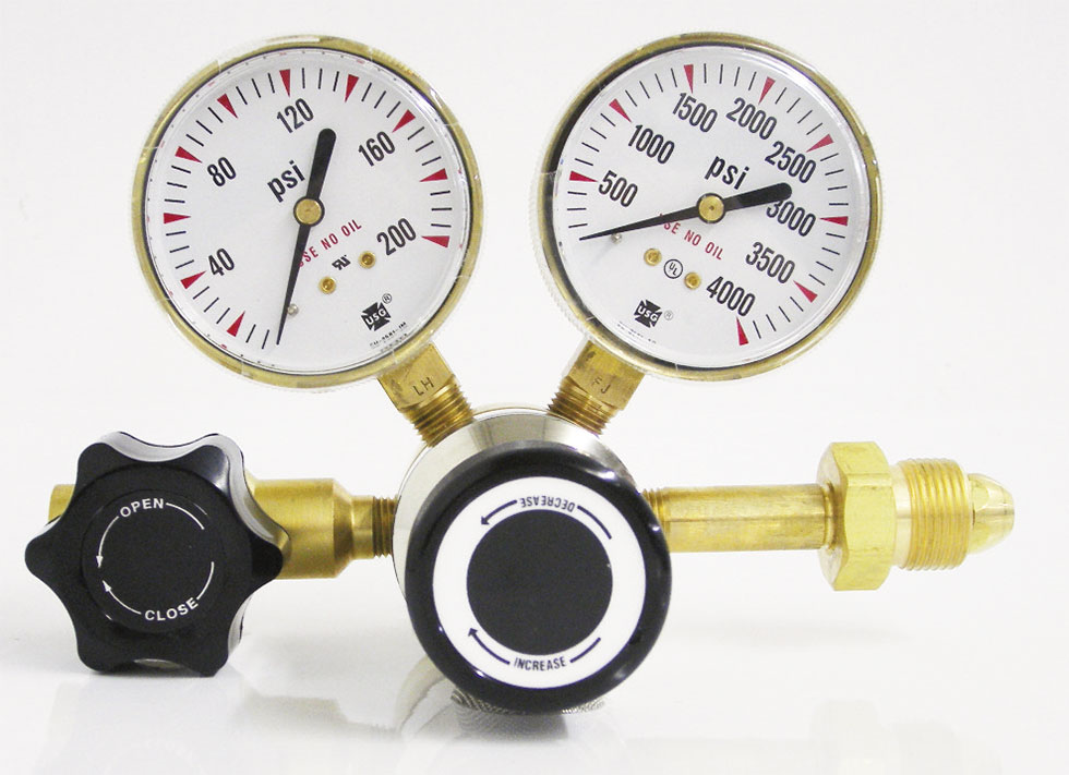 SGD 3100 Series Brass High Purity Single Stage Regulator