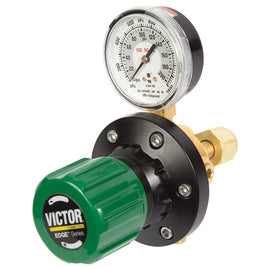 0781-5206 Victor Model EST4-125-024R EDGE™ Heavy Duty Oxygen Two Stage Pipeline/Station Regulator, CGA-024