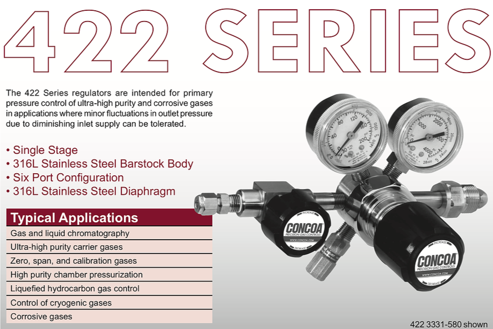 422 Series Concoa Regulator