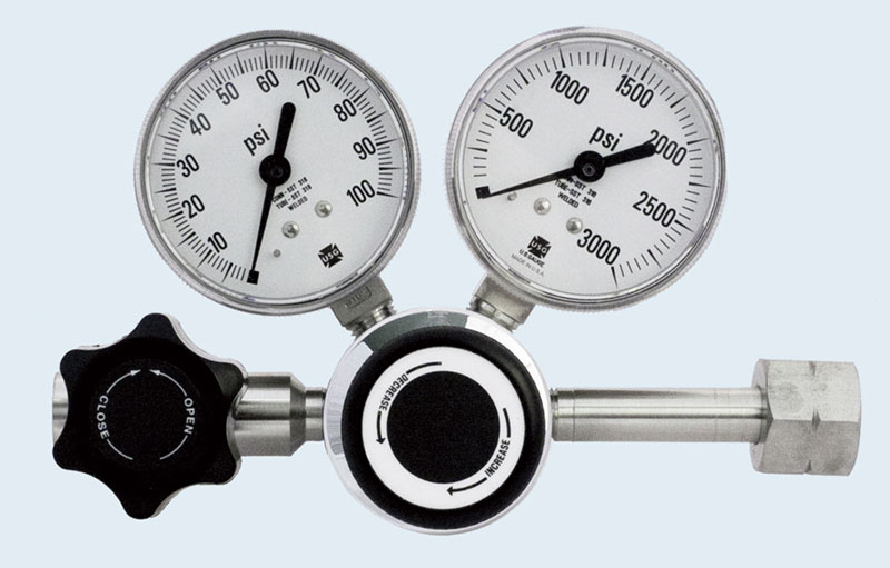 SGD 3400 Series Stainless Steel High Purity Single Stage Regulator