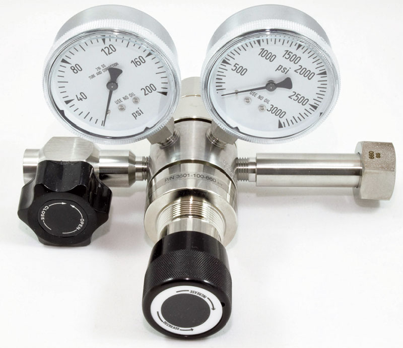 SGD 3500 Series Stainless Steel High Purity 2-Stage Regulator