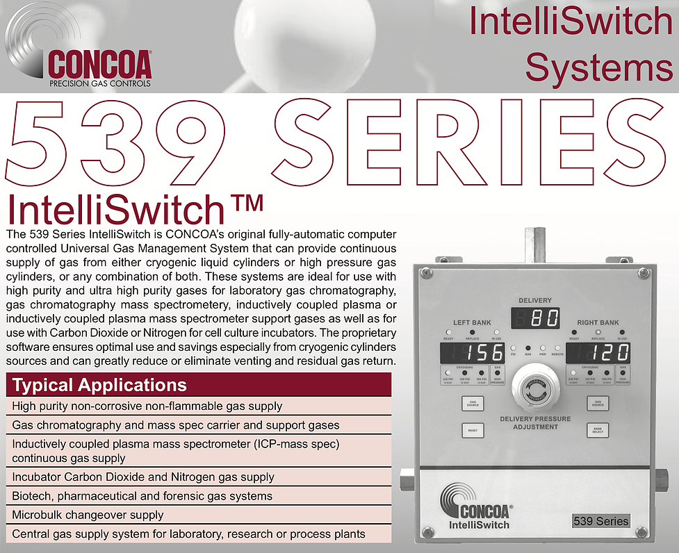 539 Series Concoa Intelliswitch