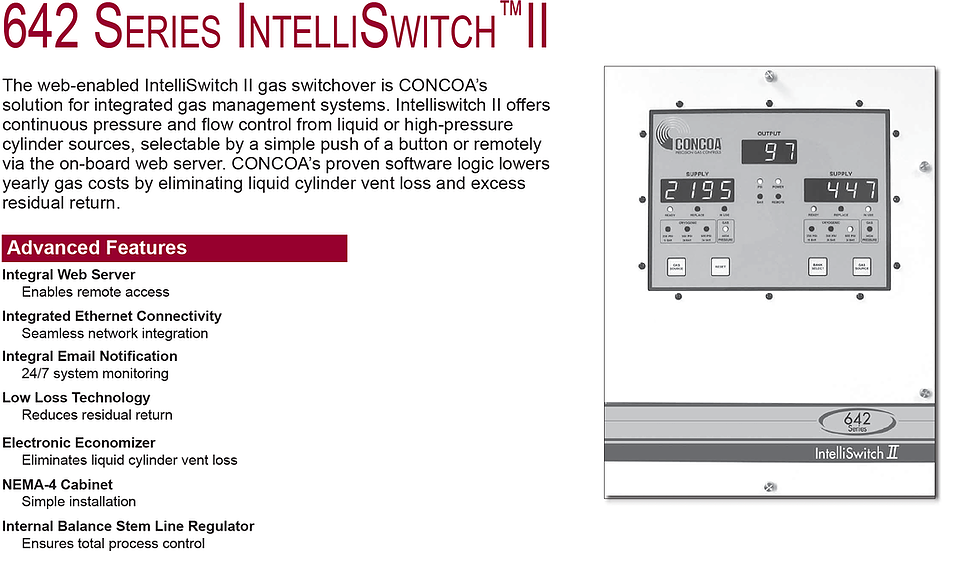 642 Series Concoa Intelliswitch 2
