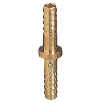 "44 Western Fitting 1/4"" to 1/4"" ID Hose Barb Round Splicer"