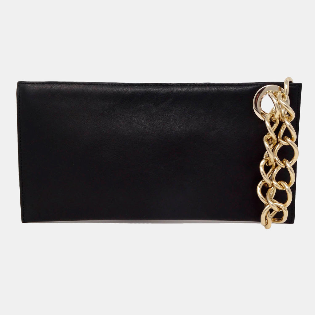 Brickell pony clutch bag
