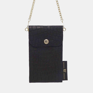 Phone case bag with chain