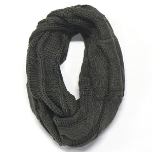 Charcoal BB Pom & Scarf Bundle