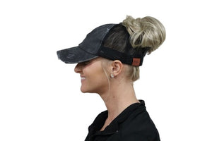 Don't Be A Ponytail Cap - Your Basic Bits