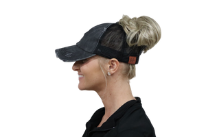 Awareness Ponytail Cap