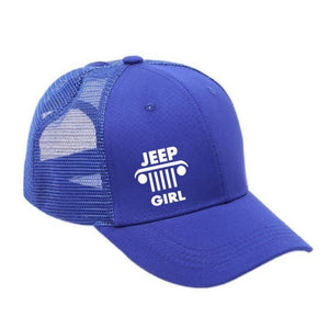 Jeep Girl Ponytail Cap - Your Basic Bits