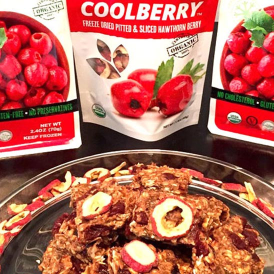 Coolberry™ Oat Energy Bars