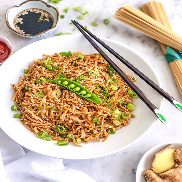 Take Out Style Sesame Noodles