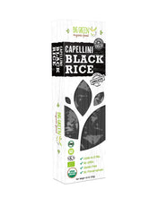 Organic Black Rice Capellini Pasta