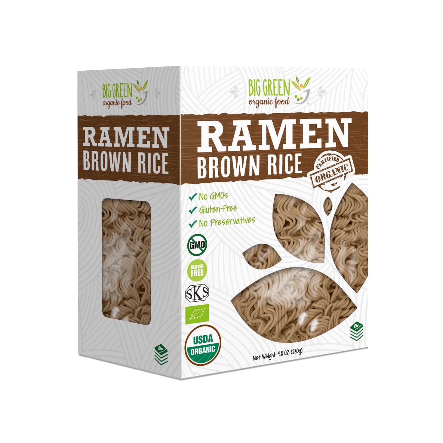 Organic Brown Rice Ramen (New Concept)
