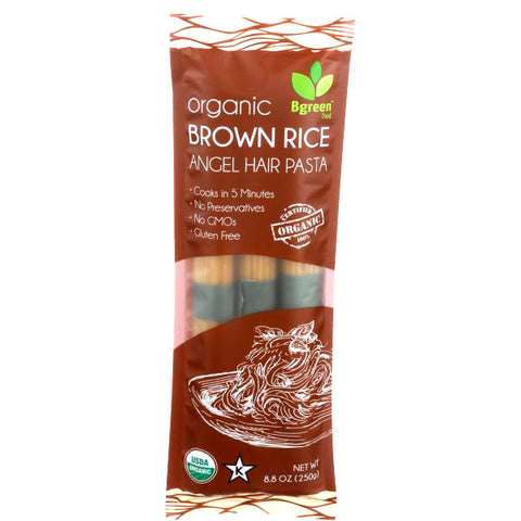 Organic Brown Rice Angel Hair Pasta
