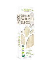 Organic White Rice Capellini Pasta