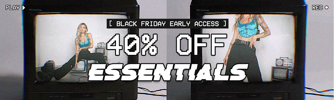 SHOP 40% OFF ESSENTIALS >