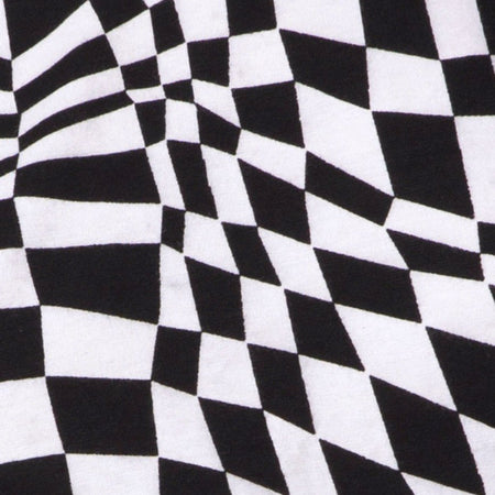 Acro Unitard in Square Flag Black and white by Motel