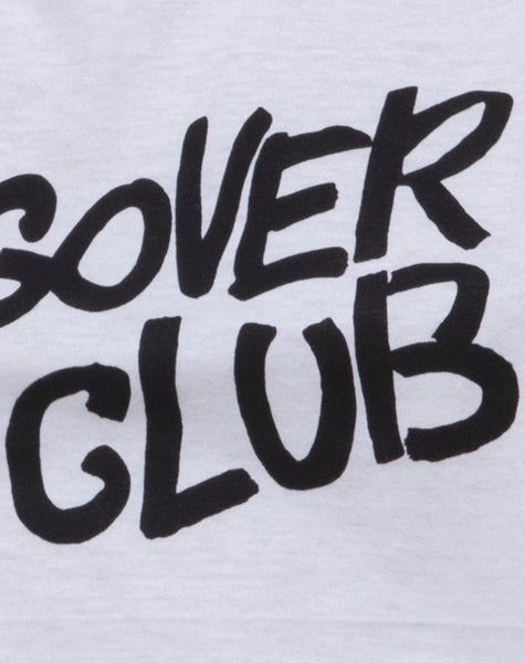 Oversize Basic Tee in Hangover Club by Motel