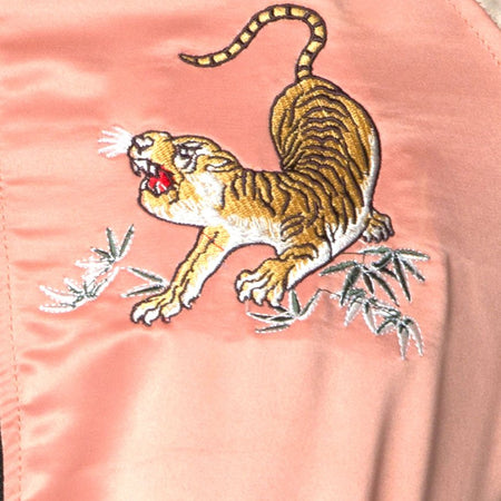Yaw Bomber Yellow Tiger Embroidery by Motel
