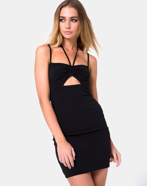 Copains Dress in Black by Motel