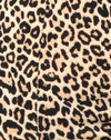 Cycle Short in Rar Leopard Brown
