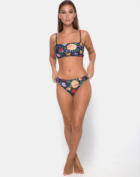 Gwyneth Bikini Bottom in Senorita Rose by Motel