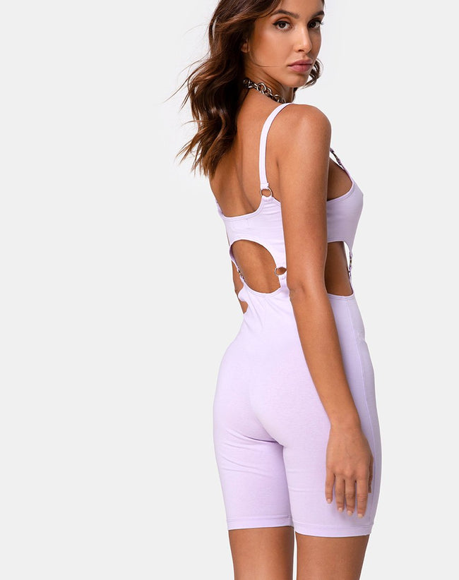 Jaso Unitard in Lilac by Motel