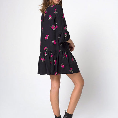 Kamryn Dress in Grunge Rose by Motel