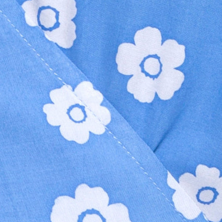 Karill Dress in Daisy Stamp Sky Blue by Motel