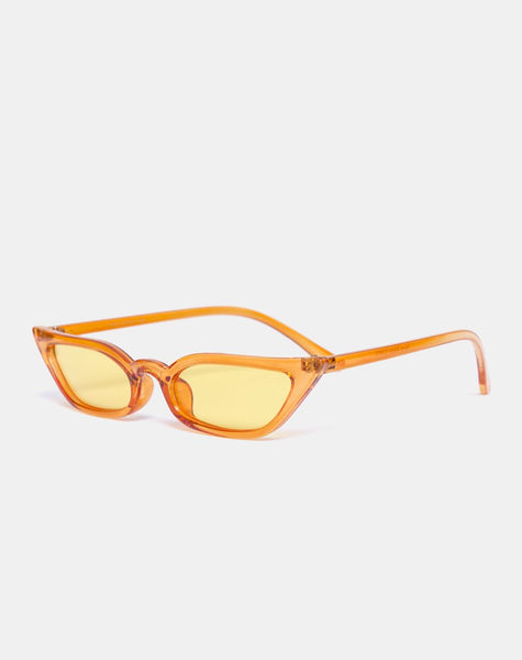 Kendal Sunglasses in Yellow by Motel