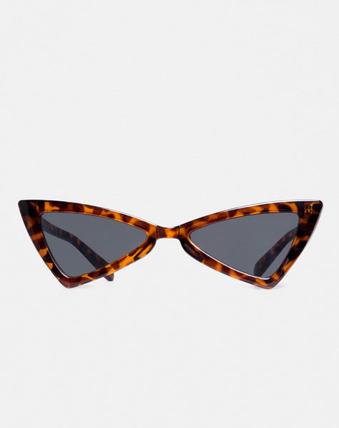 Khris Sunglasses in Leopard by Motel