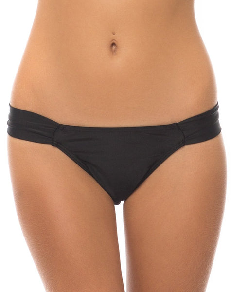 Motel Knox Hipster Bikini Bottoms in Black