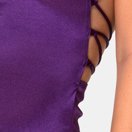 Kozue Dress in Purple by Motel