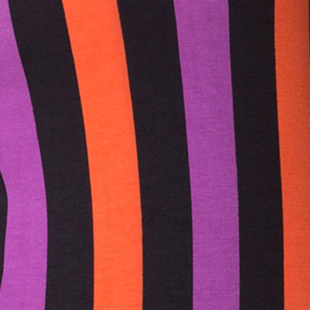 Lucia Bodice in Purple and Orange Stripe by Motel