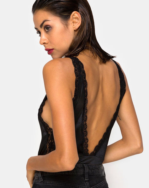 Meek Bodice in Black By Motel