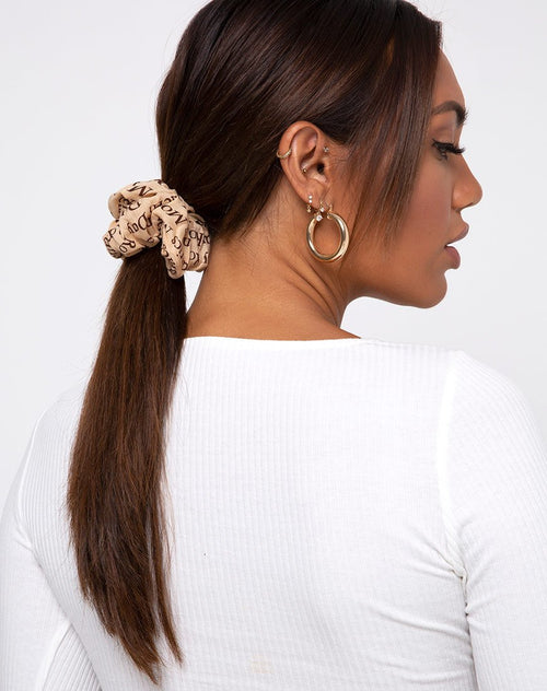 Scrunchies in Modern Day Romantic Nude