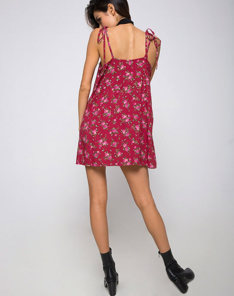 Osla Slip Dress in Soheila Floral by Motel
