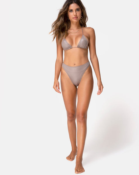 Meeka Bikini Bottom in Coco by Motel