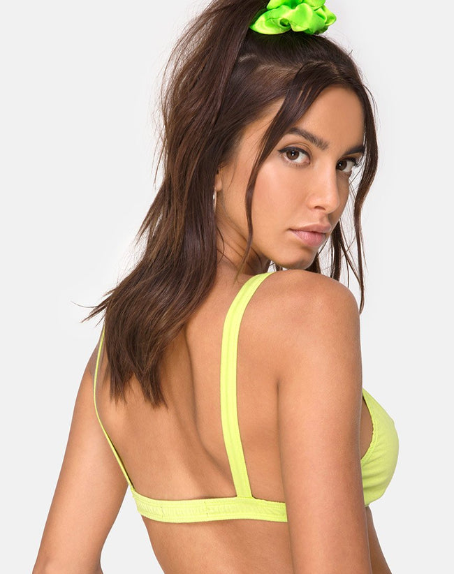 Soja Bralet in Lime by Motel