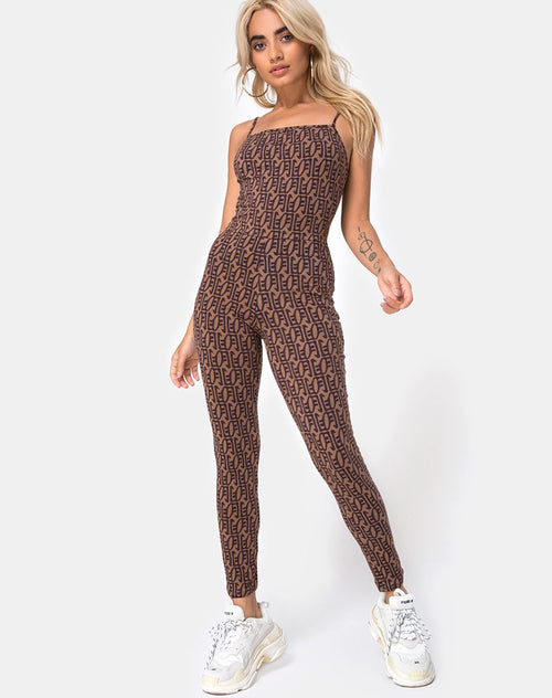 Solita Unitard in Chinese Moon by Motel