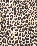 Sunny Kiss Oversize Tee in Rar Leopard by Motel