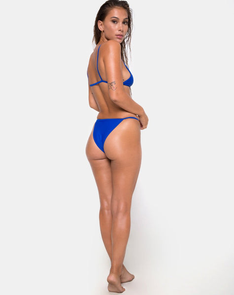 Valter Bikini Top in Royal Blue by Motel