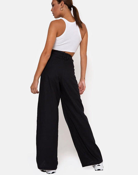 Yeva Trouser in Black by Motel