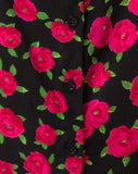 Zavacca Dress in Red Bloom By Motel