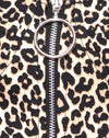 Zolia Trouser in Rar Leopard Brown