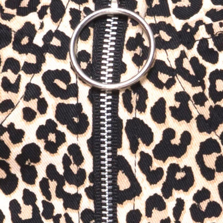 Zolia Trouser in Rar Leopard Brown by Motel