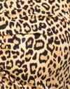 Zuma Crop Top in Rar Leopard