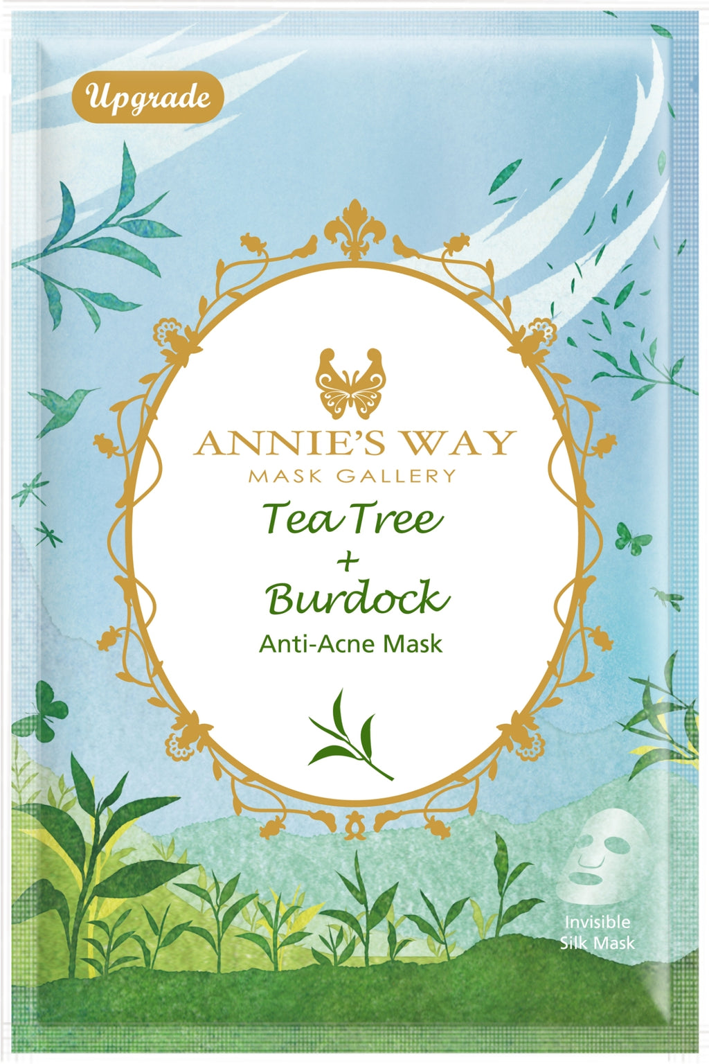 Annie's Way Tea Tree + Burdock Anti-Acne Mask