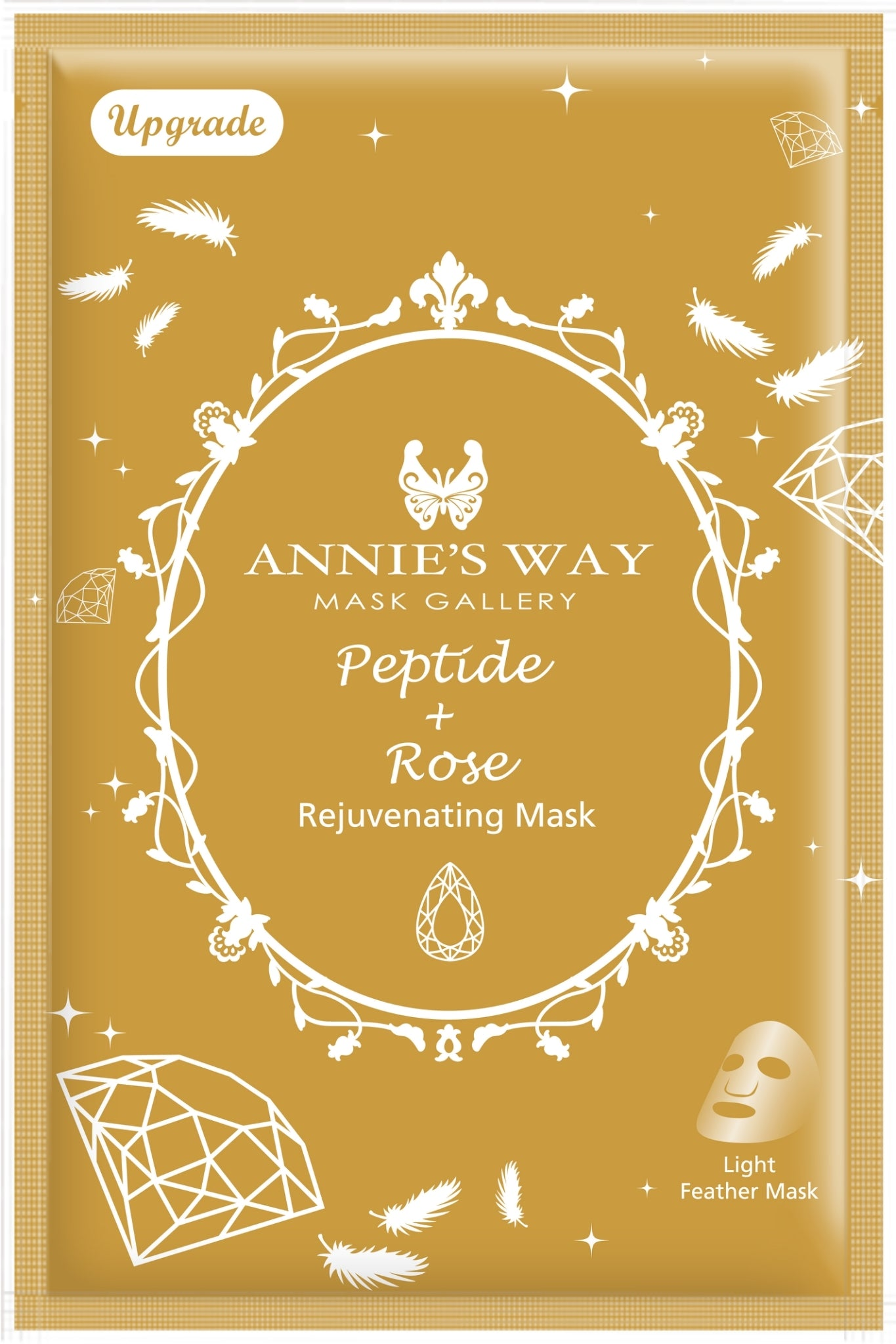 Annie's Way Peptide + Rose Rejuvenating Mask